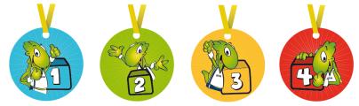 kleuterturnen beloning medaille Gymbo Gymba Kidies kleuters