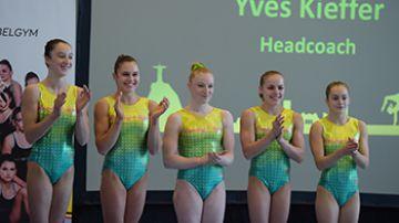 Team BELGYM meisjes voor Rio! (foto: Mathias Hikketik)