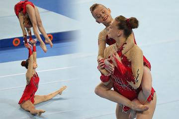 Noémie en Lore in actie tijdens de World Games 2017 - Foto Thomas Schreyer