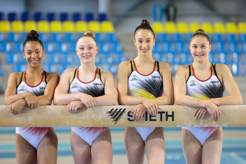 Jutta Verkest, Lisa Vaelen, Nina Derwael & Maellyse Brassart - Foto Christian Degroote