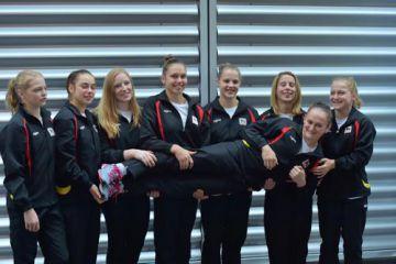 Delhaize TOP-team meisjes (foto: Mathias Hikketik)