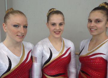 Gaelle, Lisa en Laura